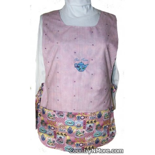 tea time reversible cobbler apron