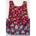 country apple blossoms apron