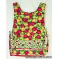 country apples reversible cobbler apron