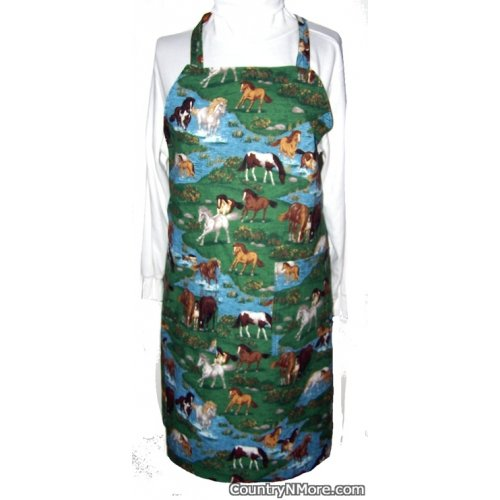 horse country bbq apron