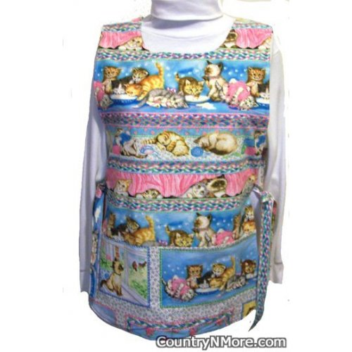 adorable kitten cobbler apron