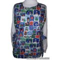 peace earth christmas reversible cobbler apron