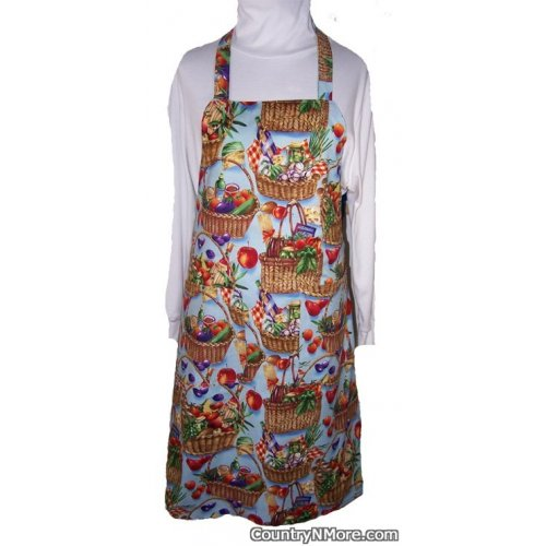 fresh vegetable garden bbq apron