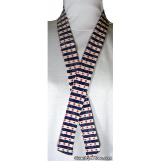 patriotic stars stripes neck cooler hot weather