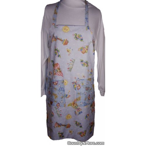 angel butterfly bbq apron