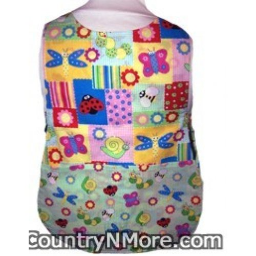 cute ladybug butterfly toddler cobbler apron