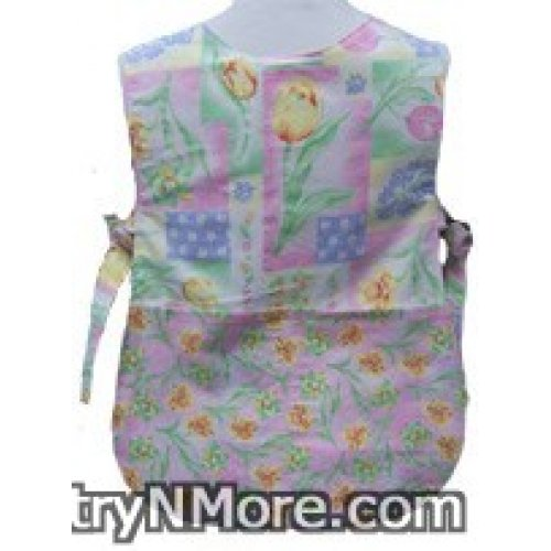 tulips daffodils toddler cobbler apron