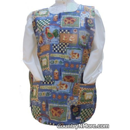 country animals cobbler apron