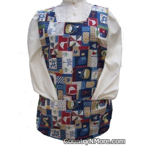 country rooster cobbler apron
