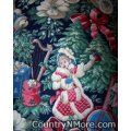 vintage look christmas holiday cobbler apron