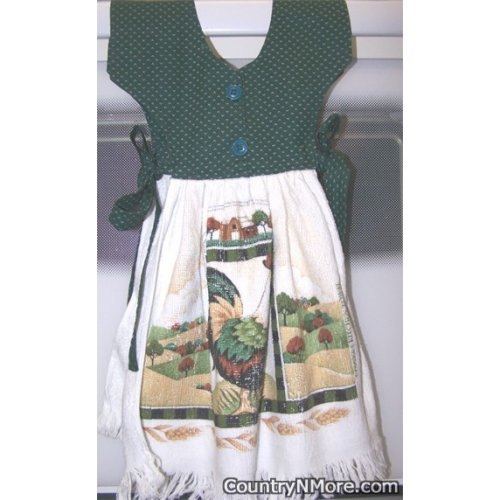 country farm rooster oven door dress