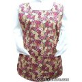 chickens roosters flowers cobbler apron