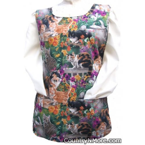 gorgeous cat kitten cobbler apron