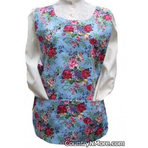 rose floral flower bouquet cobbler apron