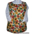chickens flowers cobbler apron