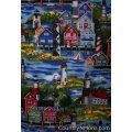 gorgeous scenic lighthouse town cobbler apron