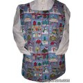 spring birds winter birdhouse snowman cobbler apron