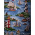 holiday beach spring summer lighthouse scene cobbler apron