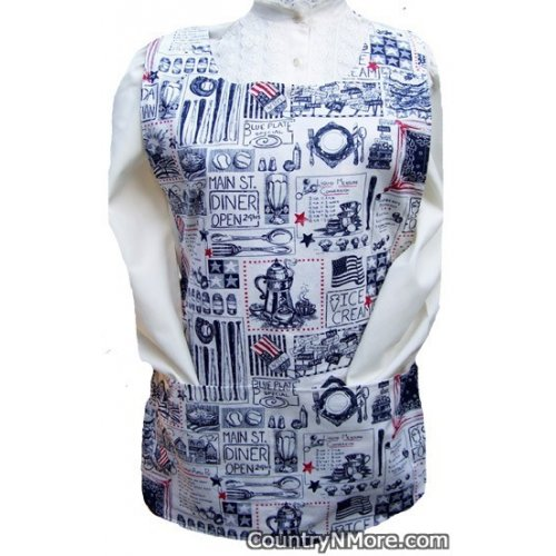 americana kitchen country god bless america cobbler apron
