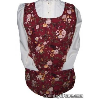absolutely gorgeous floral cobbler apron