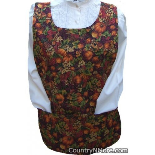 autumn harvest flower cobbler apron