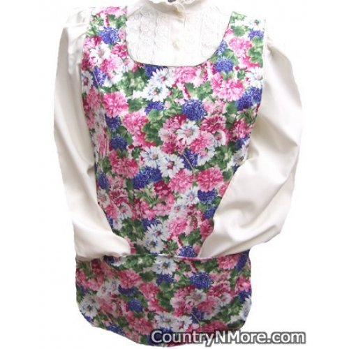 beautiful english garden floral cobbler apron