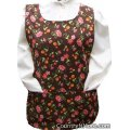 autumn harvest fall flower cobbler apron