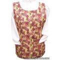 country chickens flowers cobbler apron