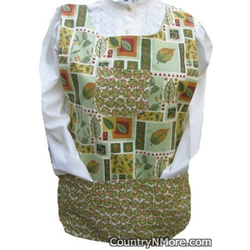 gorgeous fall leaves cobbler apron