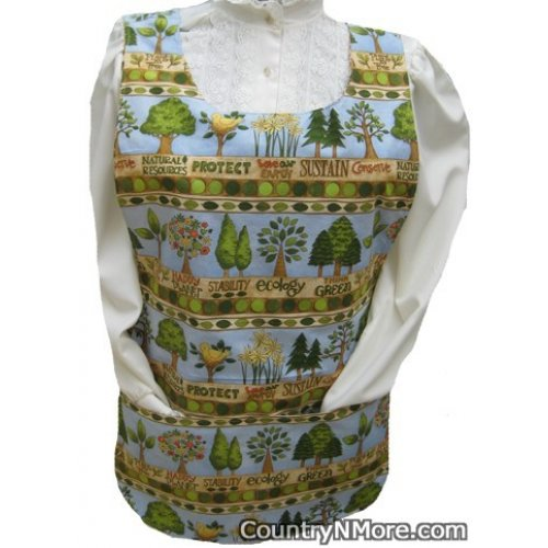 plant tree sustainability cobbler apron