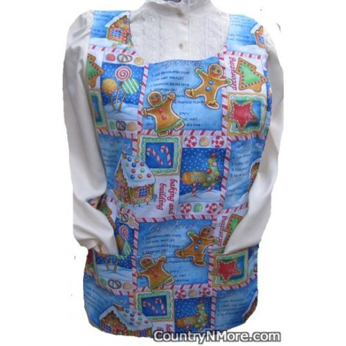 gingerbread house recipe candy cobbler apron