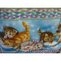 playful kittens cobbler apron 1480