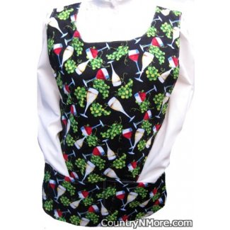 good glass wine reversible cobbler apron
