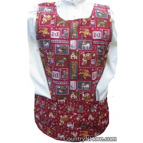 dog breed cobbler apron