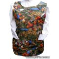 chickens roosters farm cobbler apron