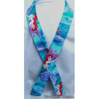 ariel ocean blues neck cooler hot weather