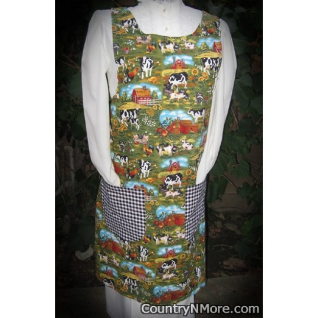 Life On The Farm 1 Vintage Canning Apron