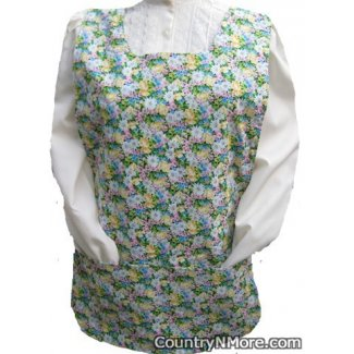 mountain bluebird wildflowers cobbler apron lg xl
