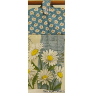 daisy oven door towel