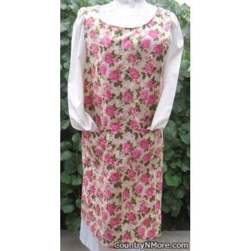 sweet roses vintage canning apron
