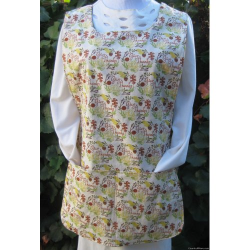 thanksgiving fall leaf cobbler apron medium