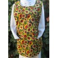 thanksgiving sunflower cobbler apron medium