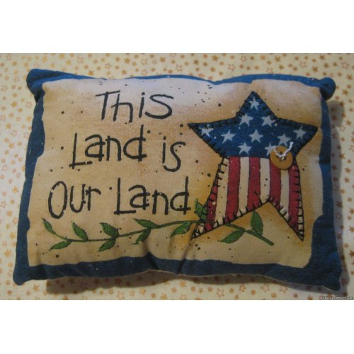 land americana pillow