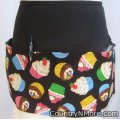 sweet cupcake waitress hostess baker apron
