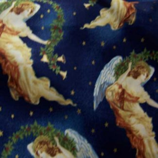 christmas angels fabric