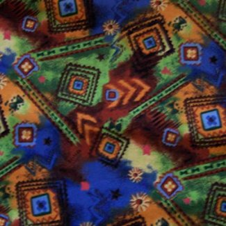 colorful southwestern fabric