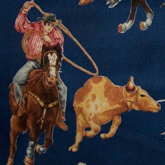 cowboy roundup lg design fabric