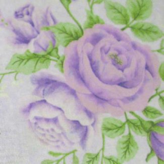purple roses large fabric