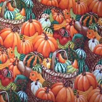 fall harvest fabric