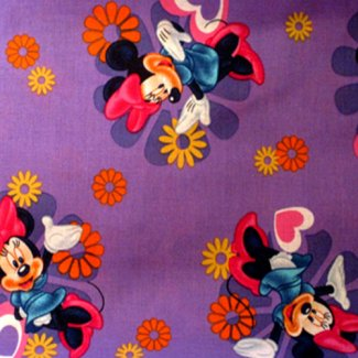 minnie mouse fabric